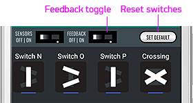 Feedback switch