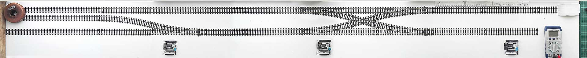 Track-plan for Wireless Railway Unit