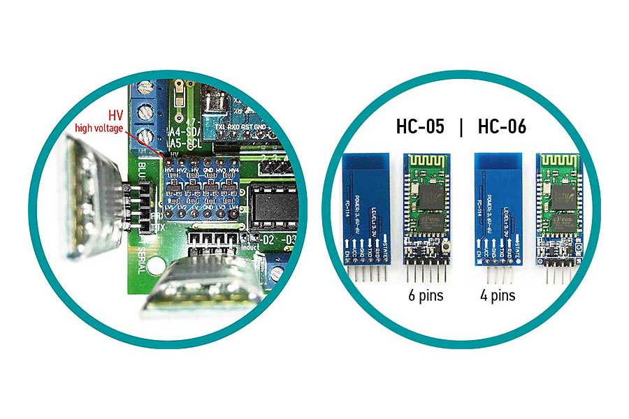 Compare Bluetooth HC-05 and HC-06