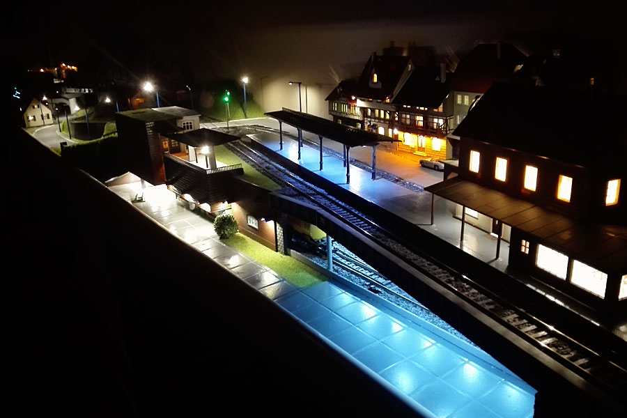 Railway Layout Nightlight