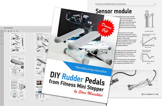 HOW MADE RUDDER PEDALS